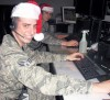 Air Guard Members Tracking Santa Tonight